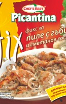 Picantina fix for chicken and mushrooms with cream sauce