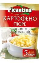 Картофено пюре със сирене и сметана